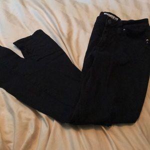 Black YMI bettabutt pants